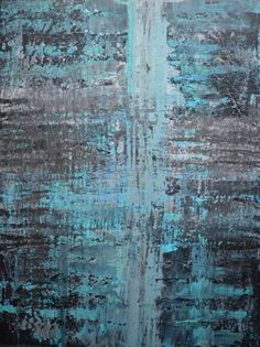 Abstract art by Canadian artist Robert Martin Abstracts. Title: Elevate 30x40x0.75in. In acrylic on canvas.