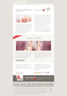 16a298a5ec0 Newsletter Isis Medical Center by Adrian COSTEA Application Design