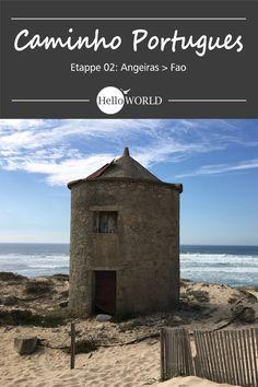 Etappe 2 . Angeiras > Fao: Jakobsweg / Caminho Portugues / Camino Portugues; Porto (Portugal) > Santiago de Compostela (Spanien)