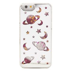 iPhone 6/6S Space Glitter Case ($28) ❤ liked on Polyvore featuring accessories, tech accessories, phone cases, phones, filler, iphone, iphone case, iphone cover case, glitter iphone case and apple iphone cases