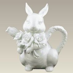 Bunny Rabbit Shaped Teapot - Tea Accessories - Roses And Teacups