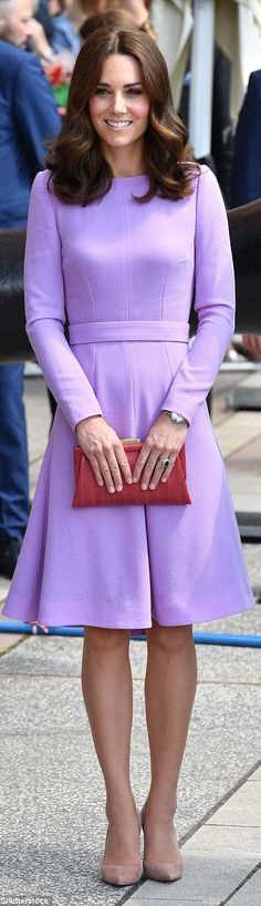 Kate Middleton in Emilia Wicksteadhttp://www.dailymail.co.uk/femail/article-4717362/Duke-Duchess-Cambridge-board-train-Hamburg.html