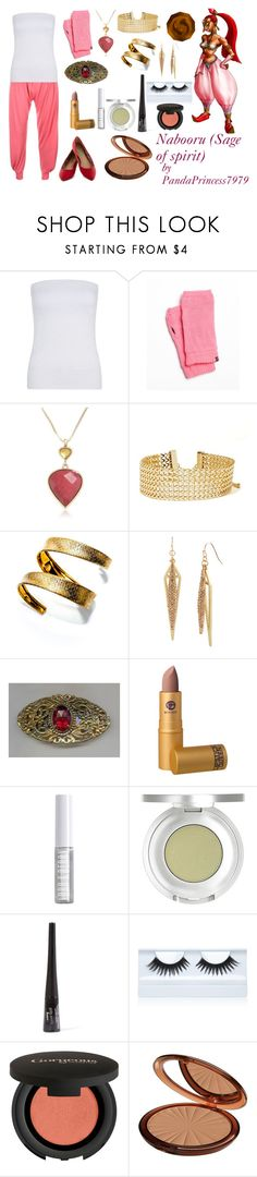 """""""Nabooru (Sage of spirit)"""" by pandaprincess7979 ❤ liked on Polyvore featuring Plush, Lucky Brand, Steve Madden, Lipstick Queen, Lord & Berry, Sue Devitt, Gorgeous Cosmetics and Isadora"""