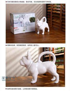ceramic dog water bottle