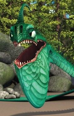 """Scauldron is a tidal class dragon first featured in the 2011 short film """"Book of Dragons."""""""