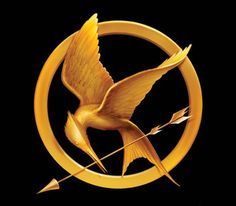 Hunger games logo by Tim O'Brien,  Pratt Institute and Philadelphia's University of the Arts professor