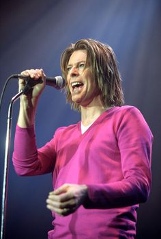 1999: David Bowie performing at The Astoria in London during 'The Hours... Tour'