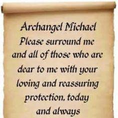 Archangel Michael Prayer | Archangel michael | Prayer board