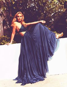 draped in gorgeousness