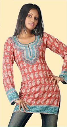 tunics | Indian Kurti Tunics: