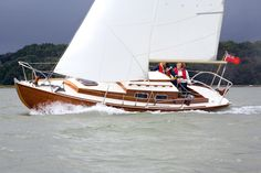 These were the smaller, sportier versions of the 'British yacht' (see No 6), though the most famous and prolific was the 25ft (7.6m) Scandinavian Folkboat of 1942 and its derivatives (Stella, Contessa 26 etc). Similar, but earlier and more robust was the Laurent Giles- designed Vertue (1936, also 25ft). It proved great at long-distance cruises and races, while the Folkboat was more at home as a day-racer, though it was Blondie Hasler's junk-rigged Folkboat Jester that co-launched the OSTAR…