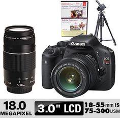 Costco: Canon® EOS Rebel T2i 18 MP Digital SLR Camera Bundle