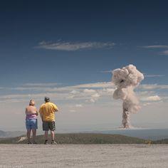 Des touristes atomiques - La boite verte