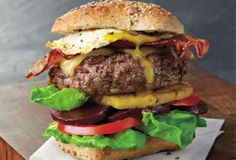 Get a FREE Australian Lamb A World of Flavor Recipe Book! Our newest Australian Lamb recipe book takes you around the world to sample some of the finest Lamb Chop Recipes, Hamburger Recipes, Meat Recipes, Cooking Recipes, Lamb Burgers, Gourmet Burgers, Tasty Burger, Burger Food, Burger Recipes