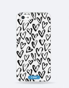 funda-movil-black-corazone My Works, Phone Cases, Blue, See Through, Mobile Cases, Phone Case