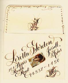 By Sandy Odom via letteringlady.blogspot.com