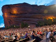 Watching a film at the Red Rocks Amphitheatre is sure to be unforgettable -- this is the only naturally occurring, acoustically perfect amphitheatre in the world. Thanks to Mother Nature, the design of the amphitheatre consists of two 300-foot monoliths -- a dramatic backdrop for movie night.