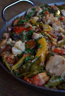 Paelle Vegan New Recipes, Whole Food Recipes, Vegetarian Recipes, Cooking Recipes, Favorite Recipes, Healthy Recipes, Vegan Foods, Vegan Dishes, Vegan Meals