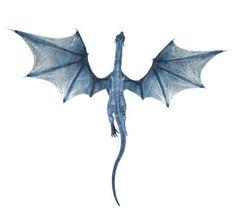 Blue Dragon Decal | Wallmonkeys.com