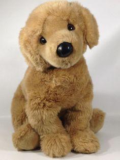 "DOUGLAS CUDDLE Plush 23"" Honey Tan LIFELIKE GOLDEN RETRIEVER Puppy Dog #Douglas"