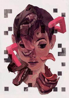 Interesting overview of Sachin's process http://www.digitalartsonline.co.uk/tutorials/photoshop/surreal-mixed-media-illustration/