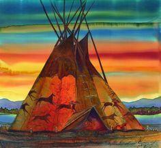 Nancy Cawdrey - Western Contemporary Artist In Bigfork Montana
