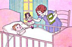 My Puzzles - Children - Vintage - Sister, Baby, & Doll 1920s