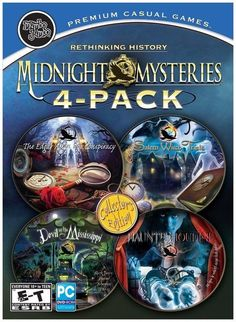 Midnight Mysteries 4-Pack PC NEW