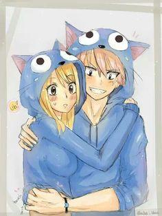 NaLu so Kawaii in Happy hoodies