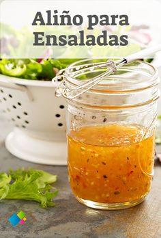 Salad Dressing Recipes, Salad Recipes, Real Food Recipes, Cooking Recipes, Marinade Sauce, Colombian Food, Copycat Recipes, Bon Appetit, Food And Drink