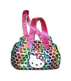 81a21e499a4f Hello Kitty Satchel Handbag - Rainbow
