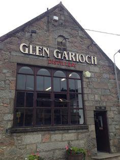 Glen Garioch Distillery in Oldmeldrum Scotland