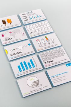 infographic business cards