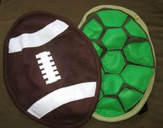 Football Baby Carrier Accessory Bjorn or Ergo Cover with Huge Storage Pocket  Great gift for football loving new dad