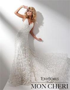 b9d488835e8 Tony Bowls Bridal by Mon Cheri wedding dress T211279 - NetFashionAvenue.com  Chapel Wedding Dresses