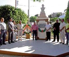Presente, Martín Lagarda, en el CXLII aniversario luctuoso de Benito Juárez