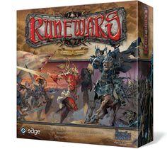 En el juego de tablero Runewars, de 2 a 4 jugadores controlan ejércitos fantásticos y compiten por dominar el territorio de juego Pero la conquista de Terrinoth