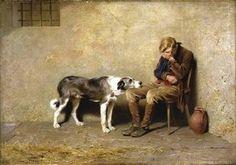 chiens peinture | LE CHIEN ET SON MAÎTRE DANS LA PEINTURE DU XIXe SIECLE - artsetstyle ...