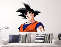 Goku Babe Dragon Ball Z Wall Decal Animation Anime Sticker Decor - Dragon ball z wall decals