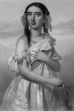 "Pocahontas (1595?- 1617) - The daughter of a powerful Powhatan Indian Chief in Virginia, she was born in the Tidewater region of Virginia around 1595 and was called Matoaka. However, at an early age she took on the nickname of Pocahontas, meaning ""Little-wanton,"" for her playful and frolicsome nature, and was considered an ""Indian Princess"" in pop culture."