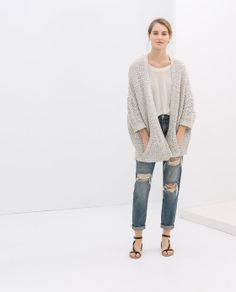 WRAPAROUND CARDIGAN from Zara $79.90