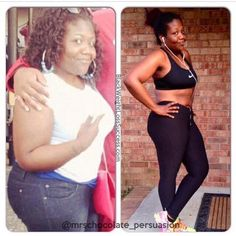 Weight Loss Story of the Day: Cherdrina lost 120 pounds by working out and going vegetarian. Check out her before and after photos.