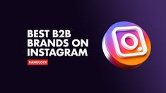 Want to leverage Instagram for your B2B company? Here are the best B2B brands on Instagram that every marketer should follow and learn from. Best Email, Instagram Handle, Competitor Analysis, The Marketing, Thought Provoking, Amazing