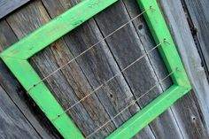 Bright Lime Green Rustic Home Decor Picture by SoPurdyCreations, $47.00
