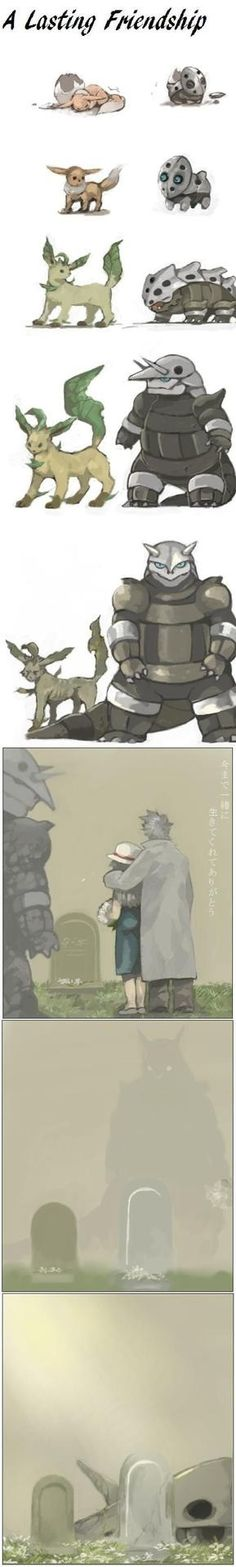 Sometimes its sad to think that pokemon isn't even real. But its hope that makes us want them here