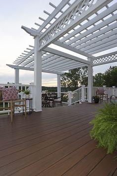 Lightweight Hollow Floor Decking , Plastic Wood Decking Fireproof Board |  ECO WPC Balcony Decking | Pinterest | Decking Boards, Wpc Decking And  Plastic Wood ...