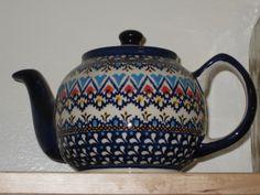 Polish Pottery - tea kettle