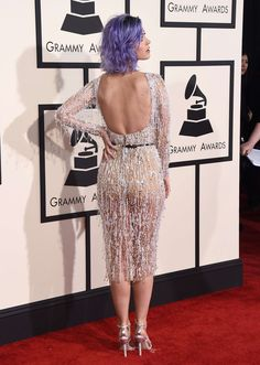 Katy Perry on the red carpet at the 57th Annual Grammy Awards on February 8, 2015