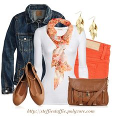 Spring Casual, created by steffiestaffie on Polyvore