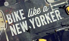 NY Bike, Amazing Art Direction